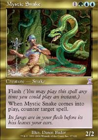 Magic: the Gathering - Mystic Snake - (Mystic Snake)