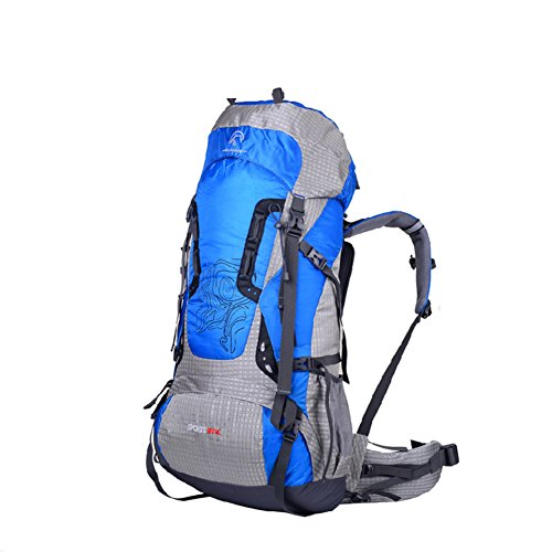 professional camping backpack/Outdoor mountaineering bag/Couples traveling waterproof backpack-A by GHSQIAUVVERP