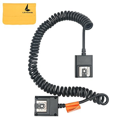 Godox TTL Off Camera Hot Shoe Flash Sync Cable Cord For Nikon Speedlite As SC-28 (TTL-N)