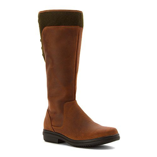 B Cedar CLARKS Boot Tavoy Women's M Leather 5 Tan 8 8qvZE