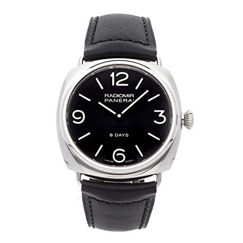 (Panerai Radiomir Mechanical (Hand-Winding) Black Dial Mens Watch PAM 610 (Certified Pre-Owned))