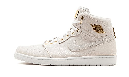 Nike Air Jordan 1 Pinnacle, Men's Trainers White / Gold (White/Metallic Gold)