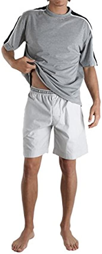 Punto Blanco Athletix - Pijama corto (gris/S): Amazon.es: Ropa