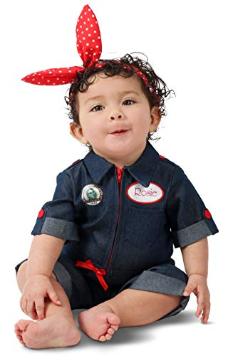 Princess Paradise Rosie the Riveter Baby Costume, As Shown, 6-12 Months]()