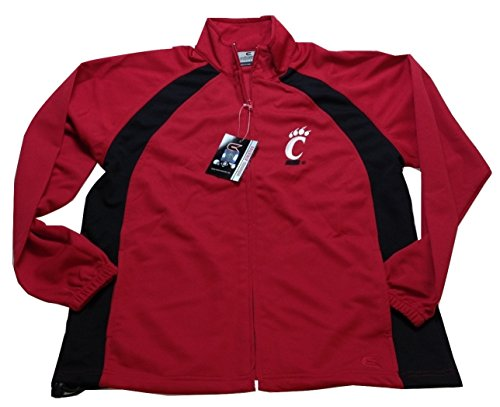 Red Cincinnati Reds Mesh Jacket - NCAA Cincinnati Bearcats Rival Full Zip Jacket, Red, X-Large
