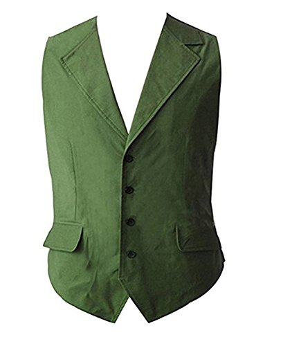 Green Vest Halloween Cosplay Costume
