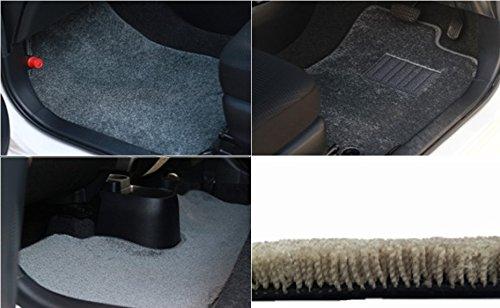カーマット スズキ ジムニー 平成7年11月~平成10年10月 AT全座席セットグレー-フラッフィー B07BQ3ZZ6F 全座席セット|4グレー 4グレー 全座席セット