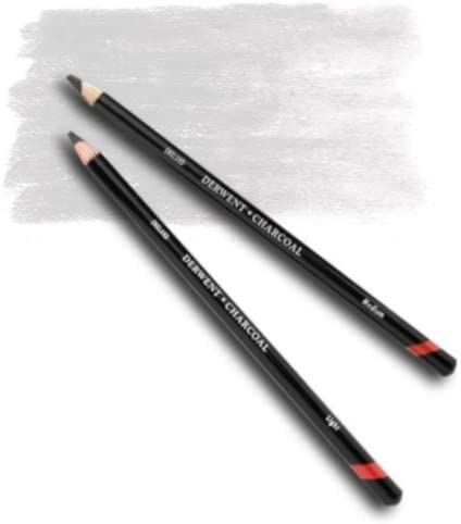 Derwent White Tinted Charcoal Pencil