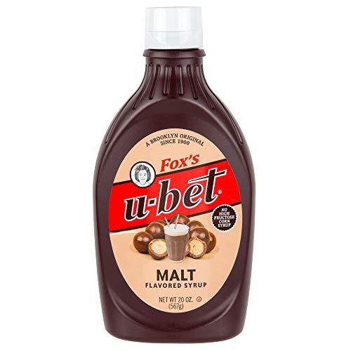 TableTop King U-Bet 20 oz. Squeeze Bottle Malt Syrup