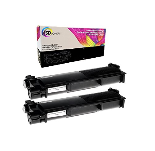 SD Toners New Compatible Brother TN660 TN630 High Yield Black Toner Cartridge Replacement for Brother 2700DW HL l2380DW (Black, 2 Pack)