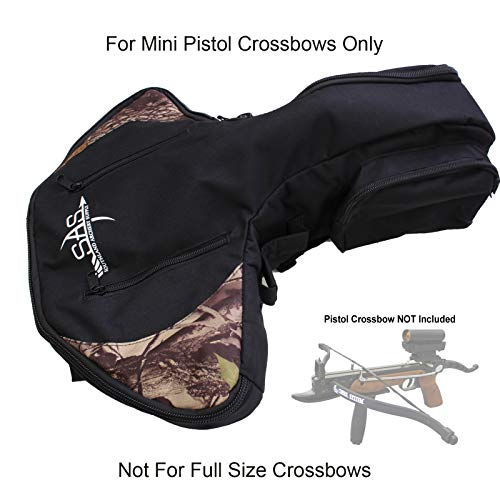 SAS Pistol Crossbow Bag with Should Strap Arrow Holder Camo