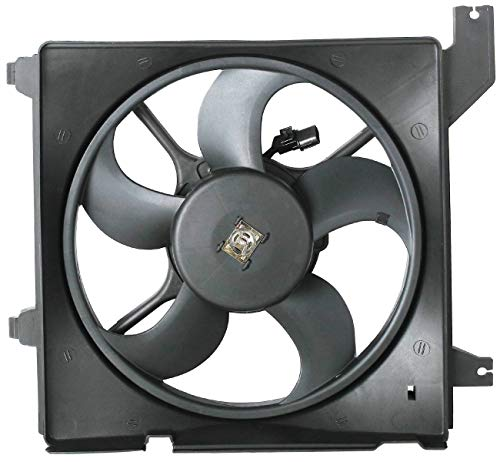 TOPAZ 25380-2C600 Radiator Cooling Fan Assembly for Hyundai Tiburon 03-08 2.7L (Hyundai Tiburon Radiator Cooling Fan)