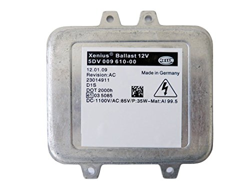 Hella OEM Xenius HID Xenon Headlight Ballast Controller Module 5DV 009 610-00