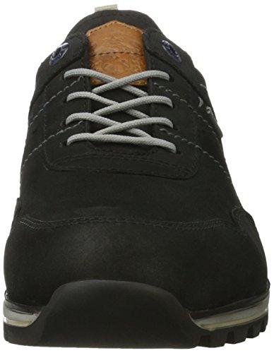 FRETZ men Walk - Zapatos Derby Hombre Schwarz (Noir)