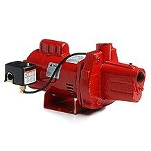 Red Lion RJS-100-PREM 602208 Premium Cast Iron Shallow Well Jet Pump