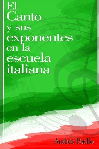 El Canto Y Sus Exponentes En La Escuela Italiana (Spanish Edition) [Mr. Andres Perillo] (Tapa Blanda)