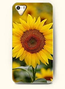 OOFIT phone case design with An blooming sunflower for Apple iPhone 5 5s
