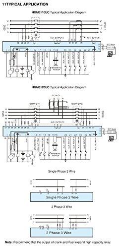 41haZQ33tDL smartgen hgm6120u auto mains failure generator controller (amf smartgen controller wiring diagram at gsmportal.co