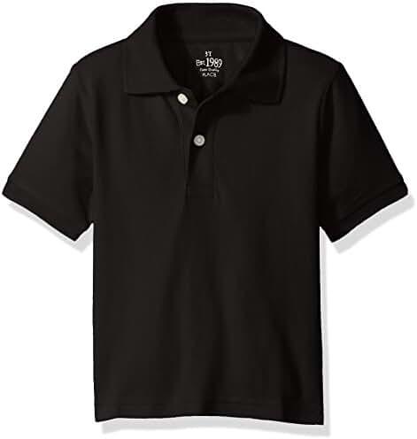 The Children's Place Baby Boys' Short Sleeve Uniform Polo Shirt