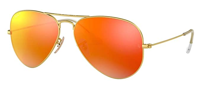 Ray-Ban RB3025 polarizado Metal Aviator Gafas de sol Aviator ...