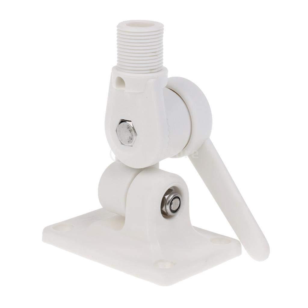 Soporte de trinquete de nailon blanco para antena de barco ...
