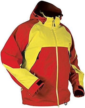 HMK Mens Intimidator Jacket Red//Yellow XX-Large