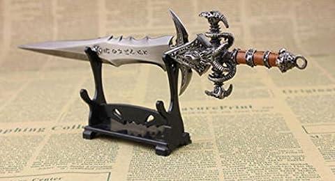 NEW! Padded Protect Samurai Sword Katana Wakizashi Tanto Foot Style Holder Stand Rack - Excalibur Folding Knife