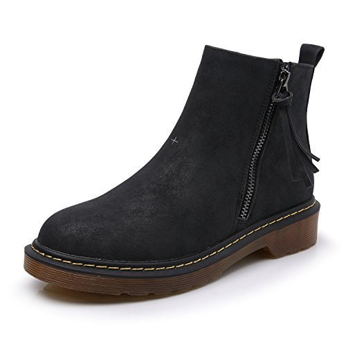 Low Black Boots - 5