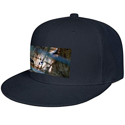 XIAOWUGO Fashion Hip-hop Hat Corsican Cat Fox Adjustable Flat Brim Baseball Cap
