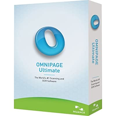 """Nuance Communications, Inc - Nuance Omnipage Ultimate - Complete Product - 1 User - Ocr Utility - Standard Retail - Pc - English """"Product Category: Software Products/Software"""""""