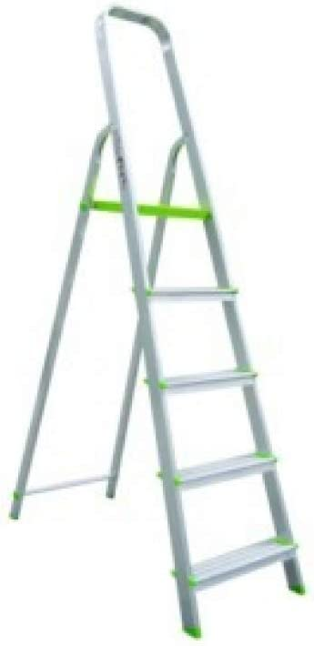 Escalera Domestica Tijera Aluminio 1.11M 5 Peldaños: Amazon.es: Bricolaje y herramientas