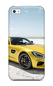 Hot Protection Case For Iphone 5c / Case Cover For Iphone(2015 Mercedes Amg Gt) 8462671K66026295