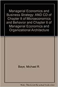 managerial economics and organizational architecture 5th edition The managerial economics organizational architecture 5th edition from the best author and publisher is now available here this is the book that will make your day reading becomes completed.
