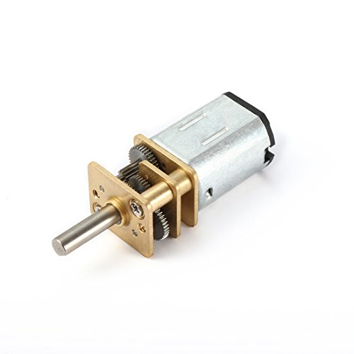 uxcell DC 12V 300RPM Micro Speed Reduction Motor Mini Gear Box with 2 Terminals for RC Car Robot Model DIY Engine Toy