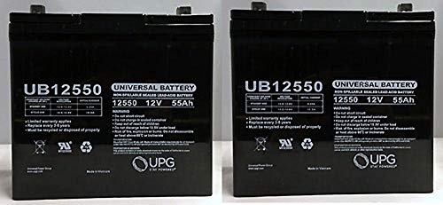 12V 55Ah Battery for Quantum QG Edge 2.0 Power Chair for sale  Delivered anywhere in USA