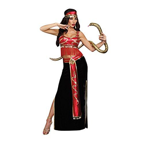 Costumes Adult Snake Charmer (Dreamgirl Women's The Snake Charmer Belly Dancer Costume, Multi,)
