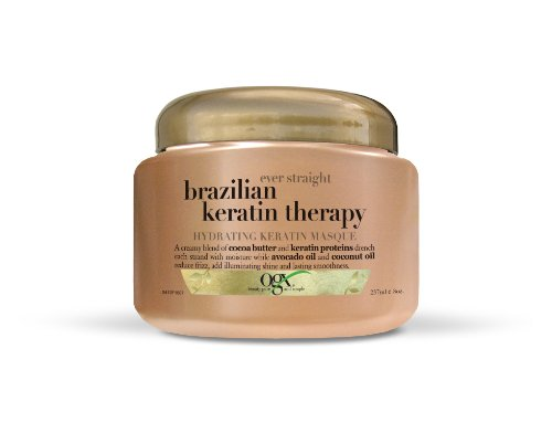 OGX Hydrating Keratin Masque, Ever Straight Brazilian Kerati