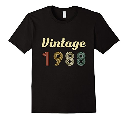 30th Birthday Vintage Gift Shirt 30 Year Old 1988 T-Shirt