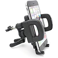 Car Mount AC Air Vent Holder Rotating Cradle Airvent Dock Stand for Verizon Samsung Galaxy Core Prime - Verizon Samsung Galaxy J1 - Verizon Samsung Galaxy J3 - Verizon Samsung Galaxy J7 V (2017)