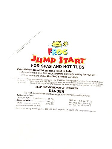 Spa Frog Jump Start Packet