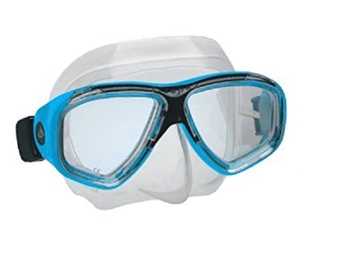 Aeris Europa 2 Low volume Scuba Diving Snorkeling Mask (Turquoise)