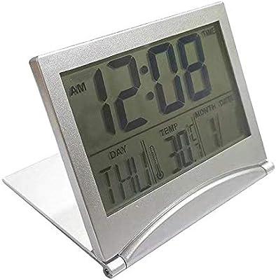 Alarmclocker8B Reloj Despertador de Mesa Estación meteorológica ...