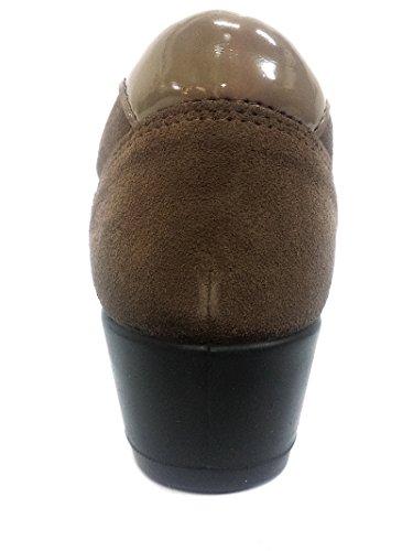 6736 FANGO Scarpa donna sneaker velcro goretex IGI&co fango
