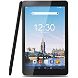 AOSON 10.1'' Android Tablet, 6.0 Marshmallow Quad Core, 1.3GHz, 16GB Storage, 1280x800 IPS Touch Screen, Dual Camera GPS 4.0 Bluetooth, Wi-Fi Tablet Computer (Black)