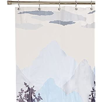 this item excell misty mountain peva shower curtain