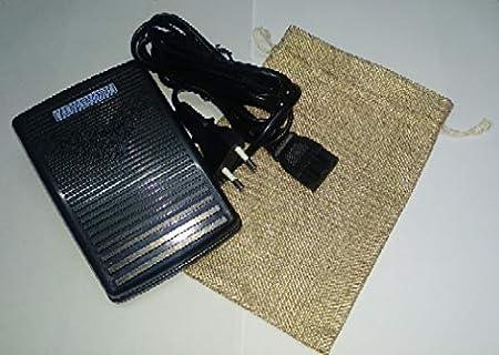 PEDAL ELECTRICO PARA MAQUINA DE COSER ALFA: Amazon.es: Hogar