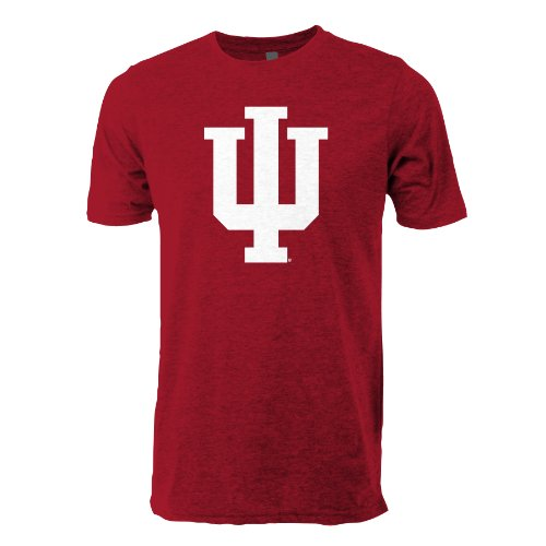 NCAA Indiana Hoosiers Ouray Sportswear Vintage Sheer Short Sleeve Tee, 2X-Large