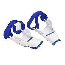 Refaxi 2pc Big Toe Straightener Bunion Hallux Valgus Corrector Night Splint Pain Relief
