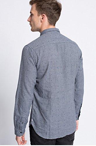 Pepe Jeans Herren Freizeit-Hemd blau Indigo