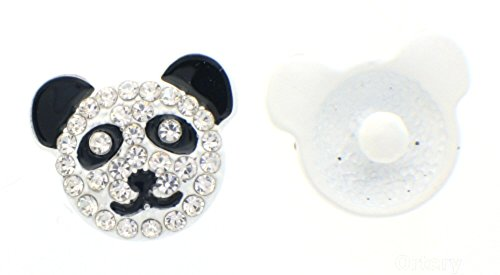 Charms Buttons Interchangeable Jewelry Panda